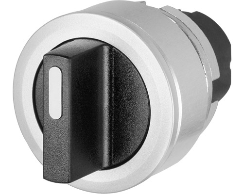 Non-illuminated knob selector switches Ø 30